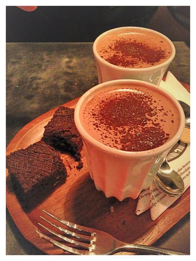 Brownie Hot Chocolate